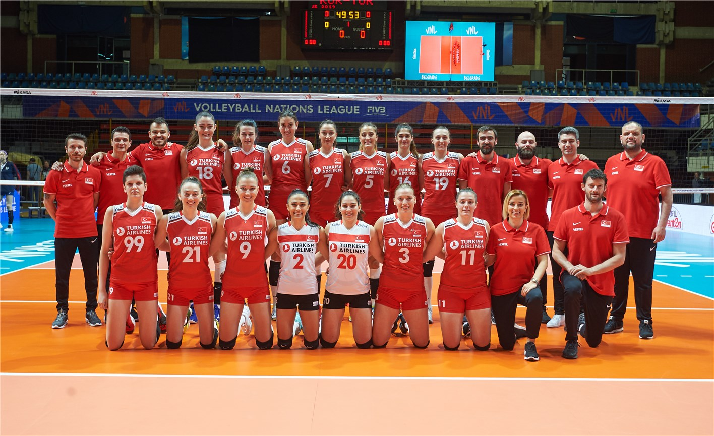 Overview - Turkey - FIVB Volleyball Nations League 2019