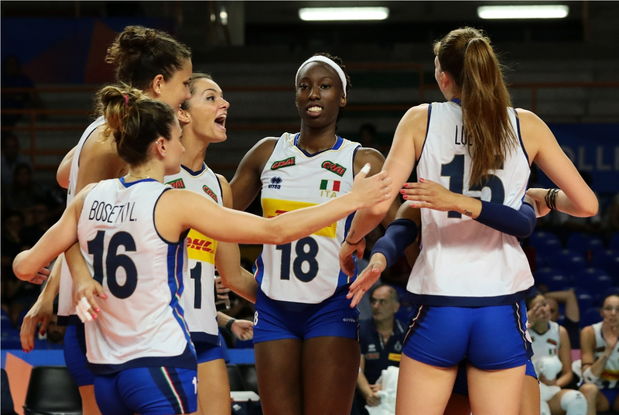 Vnl2020 News Detail Women S Vnl Pool 1 How Will Italy Make Their Entry This Year Volleyball Nations League 2021