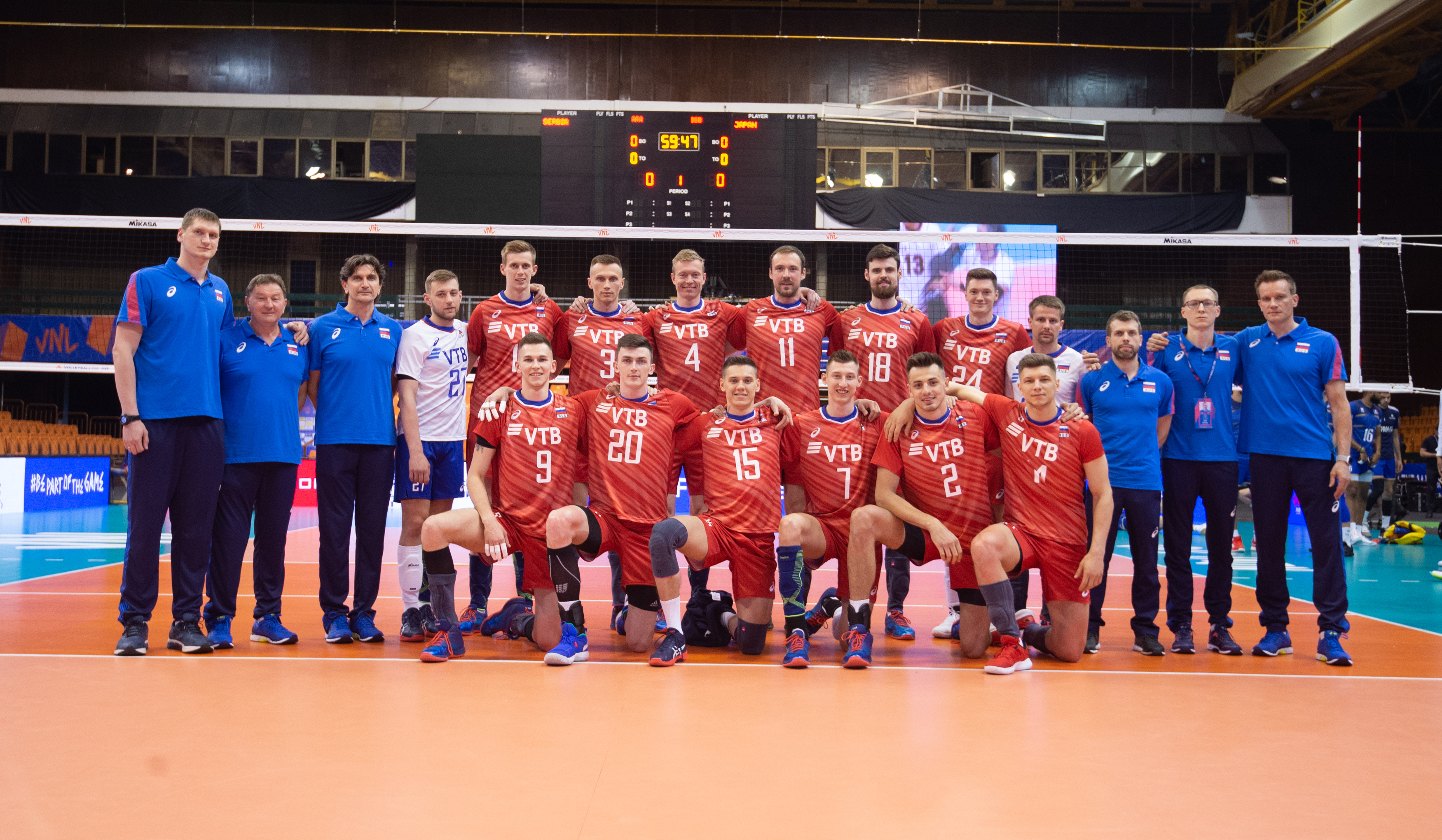 Fivb Volleyball Nations League 2018 Men S Teams Overview Russia Volleyball Nations League 2021