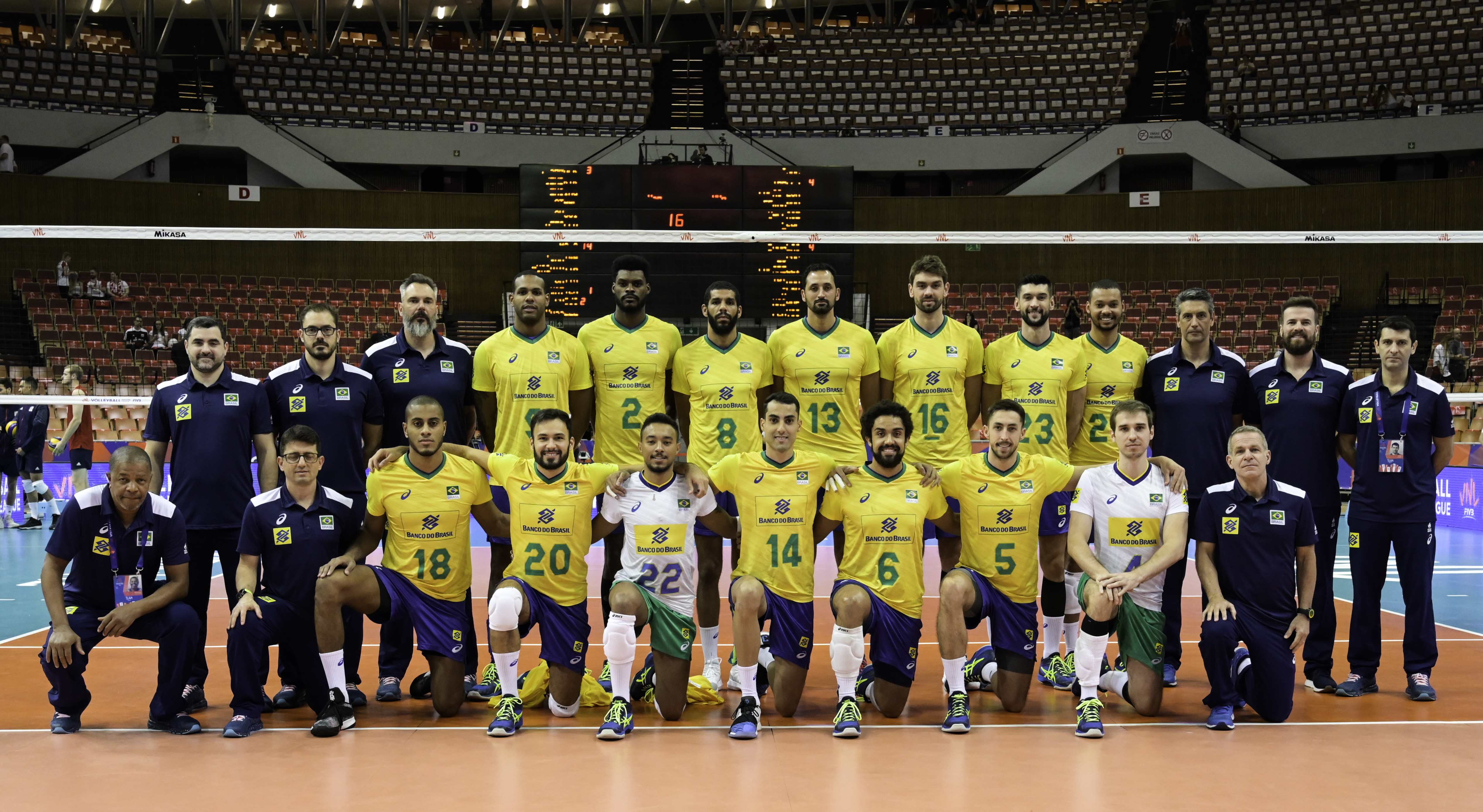 Fivb Volleyball Nations League 2018 Men S Teams Overview Brazil Volleyball Nations League 2021