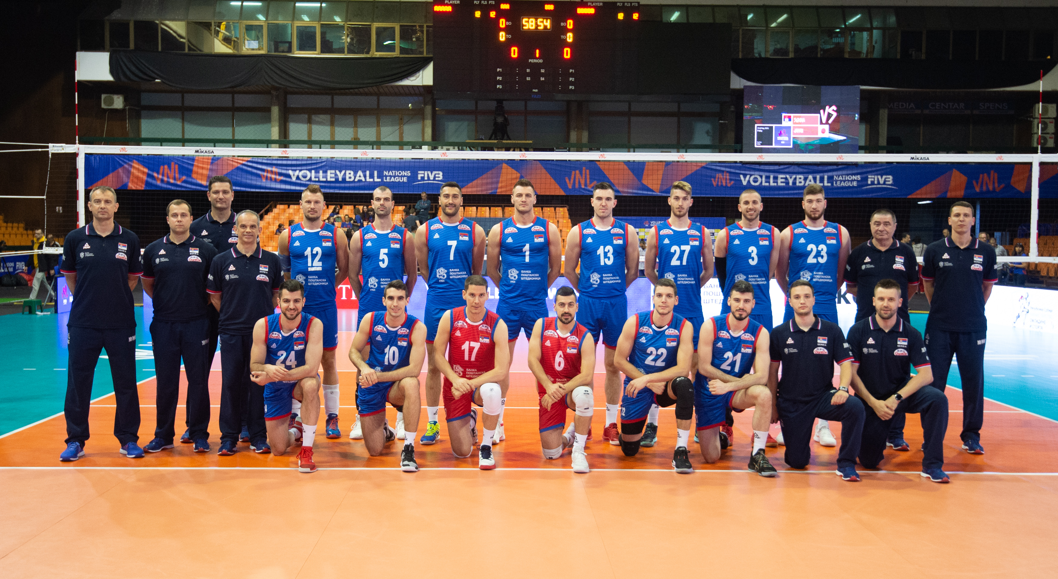Fivb Volleyball Nations League 2018 Men S Teams Overview Serbia Volleyball Nations League 2021