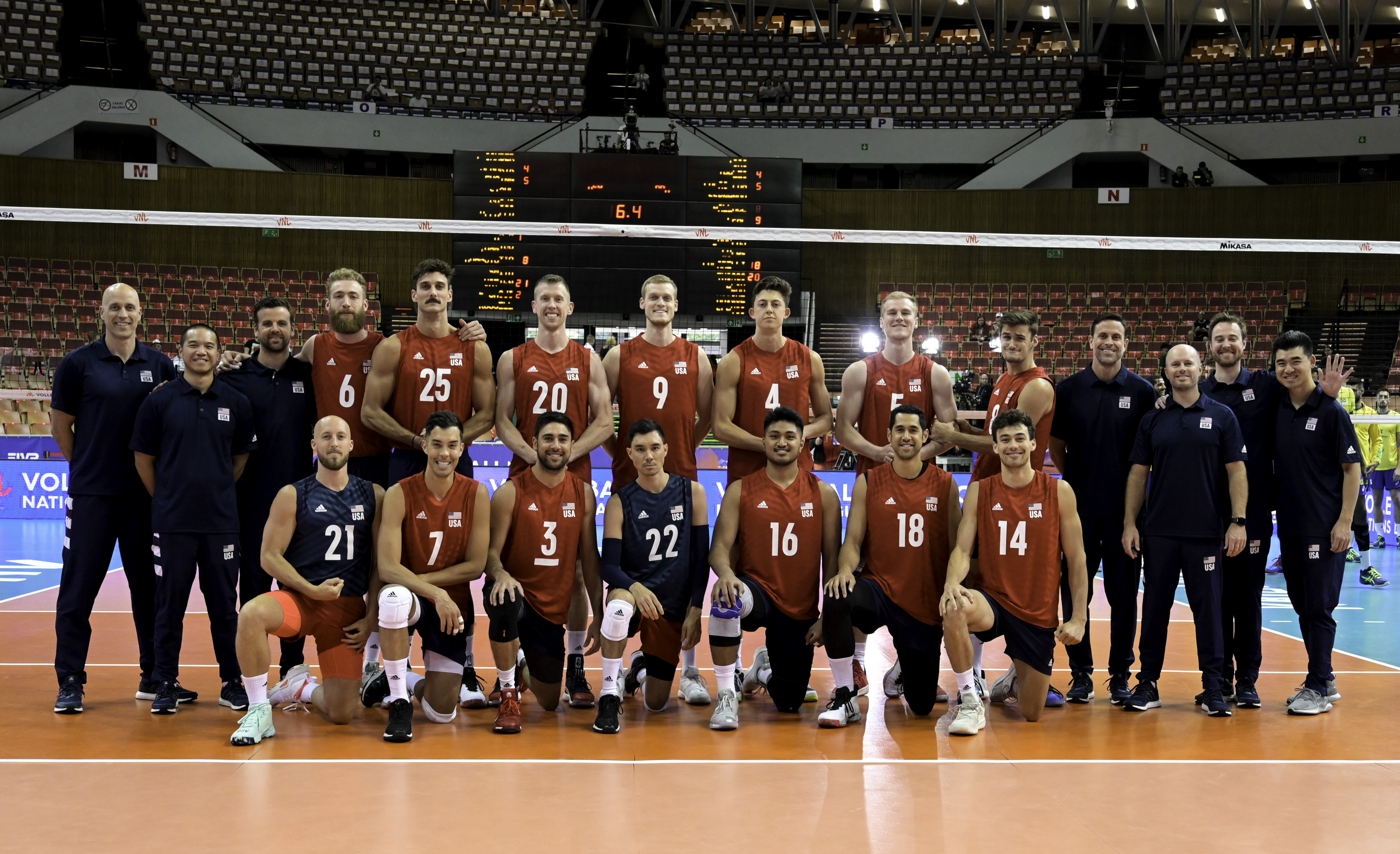 Fivb Volleyball Nations League 2018 Men S Teams Overview Usa Volleyball Nations League 2021