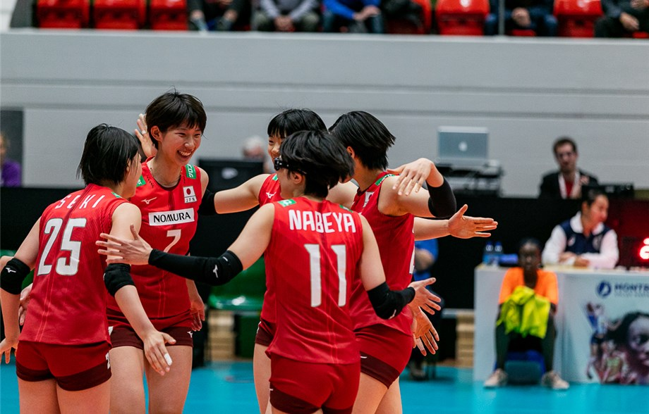 News detail - Japan sweeps out the 2018 champions! - Montreux Volley