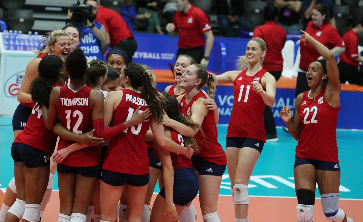 Vnl2020 News Detail 2019 Women S Vnl May 28 Pool 5 Head To Head Stats Volleyball Nations League 2021