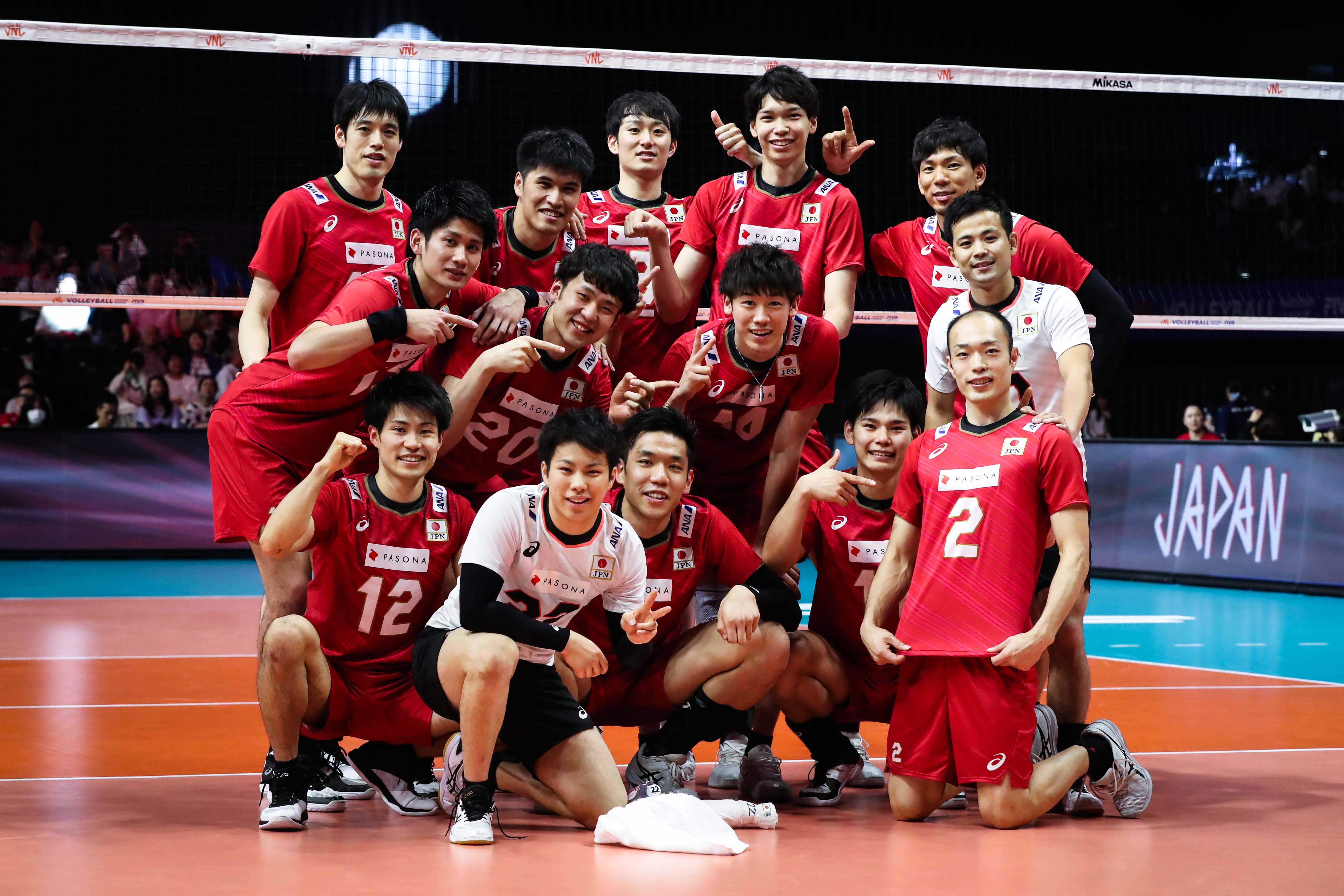 Fivb Men S Volleyball Nations League News Detail Finals Japan Happy With Win Against Argentina Fivb Volleyball Nations League 2019