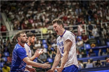 Post-Match - Russia-Poland - FIVB Volleyball Nations League 2019