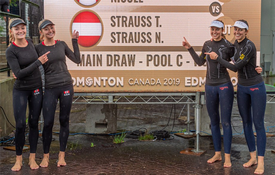 News - Austrian Strauss twins successful at the Edmonton