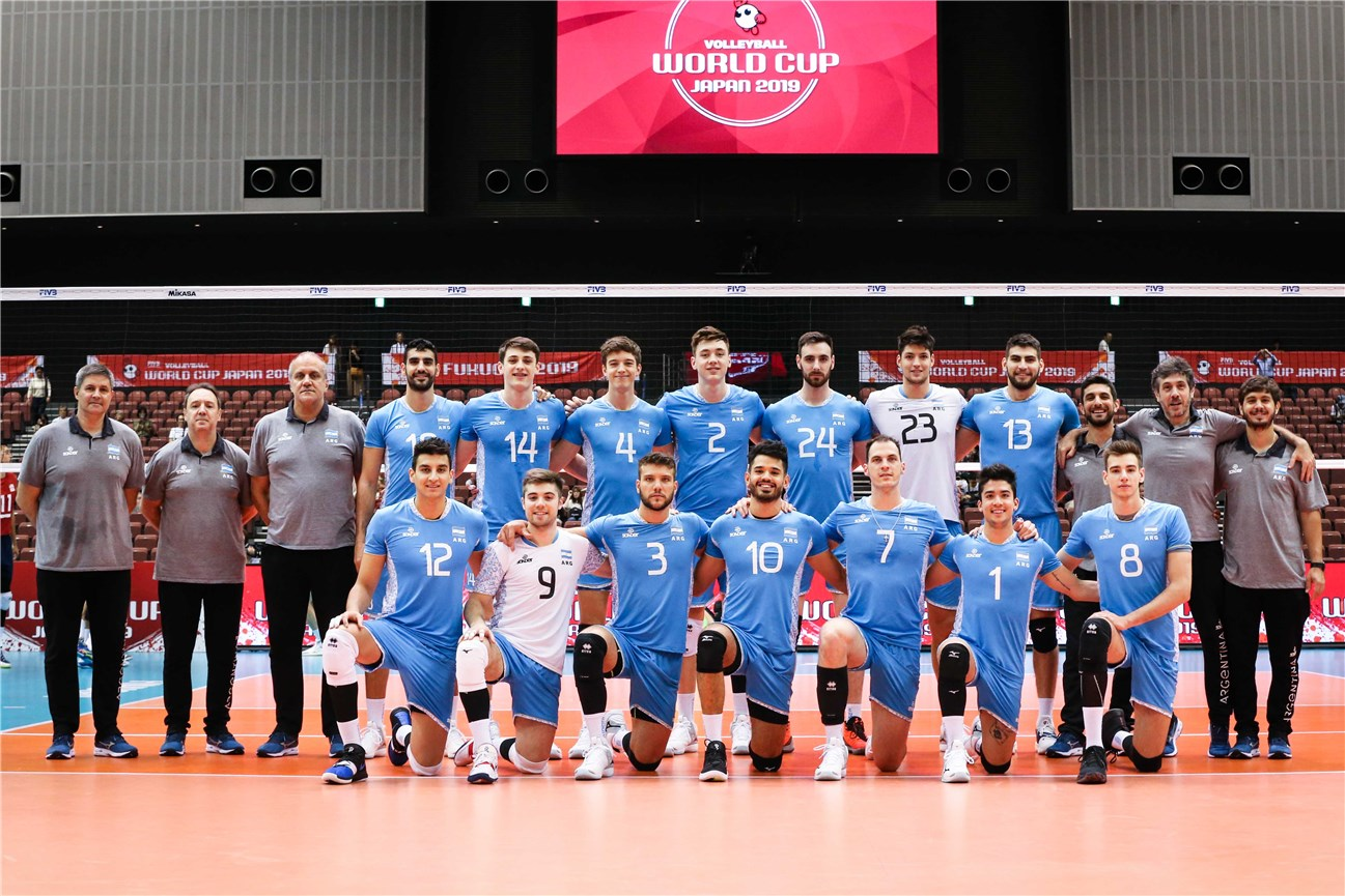 Argentina Lineup For World Cup 2020.Fivb Men Volleyball World Cup 2019 Team Overview Argentina