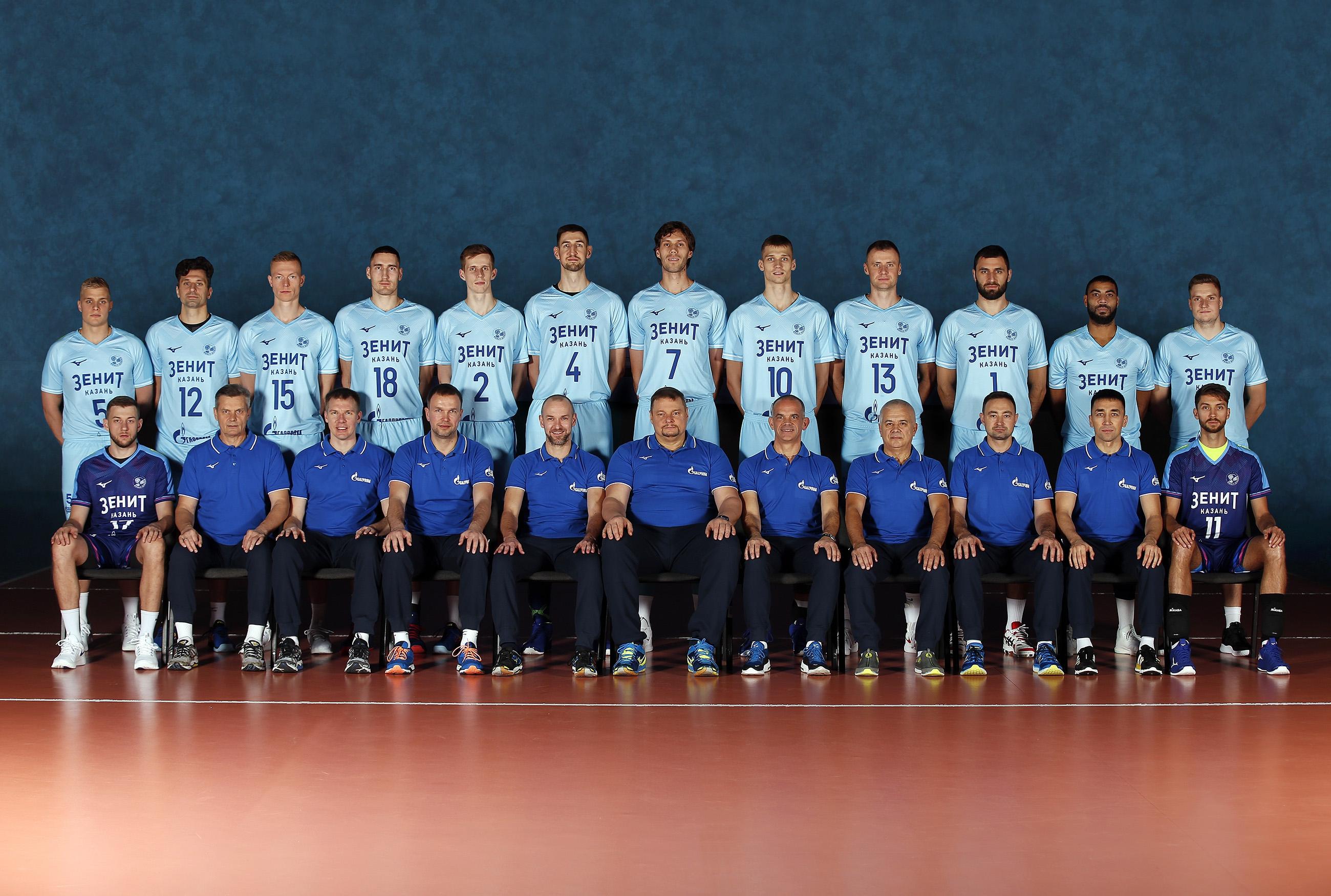 Overview Zenit Kazan Rus Fivb Volleyball Men S Club World Championship 2019