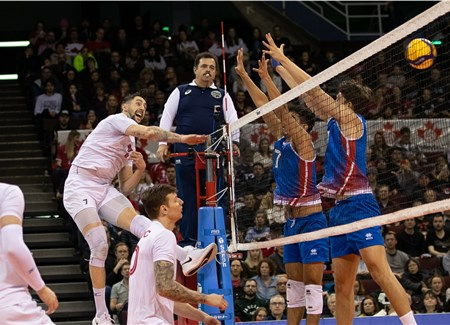 Men Pool D News Fivb Continental Olympic Qualification 2020