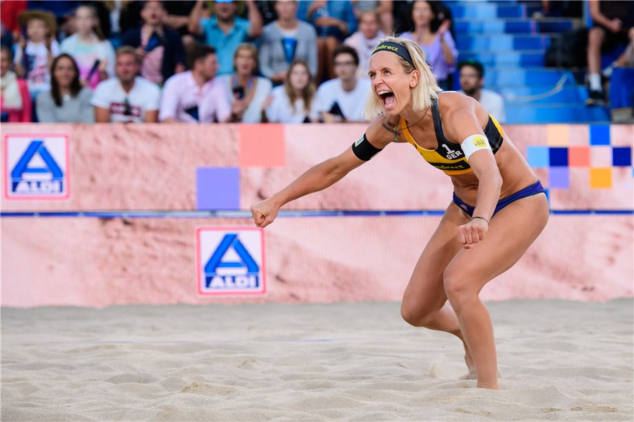 News Details Development Beach Volleyball Awards Most Entertaining Female Player Of 2018 2019 Laura Ludwig
